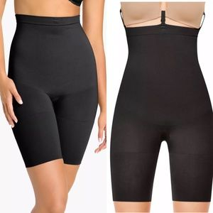 Spanx Slim Cognito High Waist Shaping Shorts Small